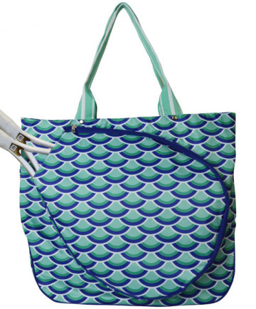 All For Color Mermazing Tennis Tote Bag TCDL7294