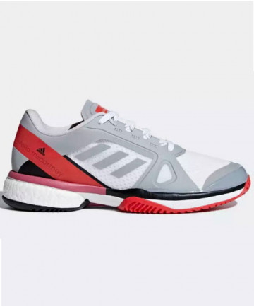 Adidas Women's Barricade Boost Shoes by Stella McCartney Grey/Red AC8259