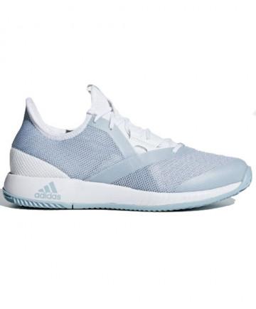 Adidas Women's AdiZero Defiant Bounce Shoes Cloud White / Ash Grey CG6350