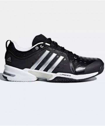 Adidas Men's Barricade Classic WIDE 4E Shoes Black CP8694