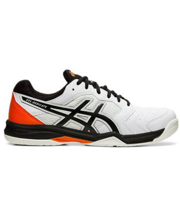 Asics Men's GEL Dedicate 6 Shoes White / Red / Black 1041A074.100