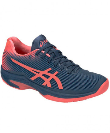 Asics Women's Solution Speed FF Shoes Shark / Papaya 104A002.410