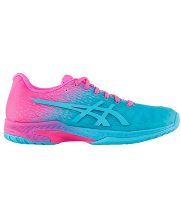 Asics Women's Solution Speed FF L.E Shoes Pink/Blue 1042A024-400