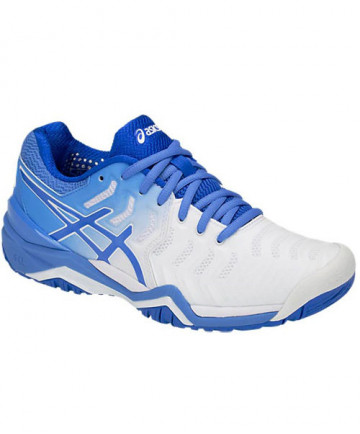 Asics Women's Gel Resolution 7 Shoes White / Blue Coast E751Y-101