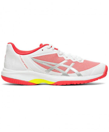 Asics Women's GEL Court Speed Shoes White / Laser Pink E850N.110