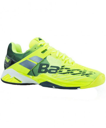 Babolat Men's Propulse Fury All Court Shoes Yellow/Black 30S18208-7003