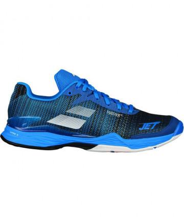 Babolat Men's Jet Mach 2 Shoes Diva Blue/Black 30S18629-4033