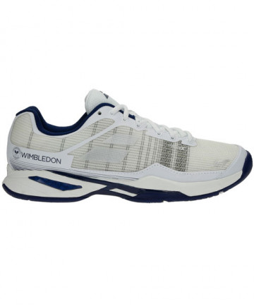 Babolat Men's Jet Mach 1 Wimbledon Shoes White 30S18686-1000