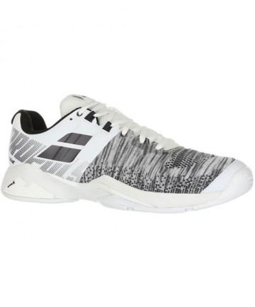 Babolat Men's Propulse Blast AC Shoes White / Black 30S19442-1001