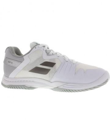 Babolat Women's SFX 3 AC Shoes White/Silver 31S18530-1019