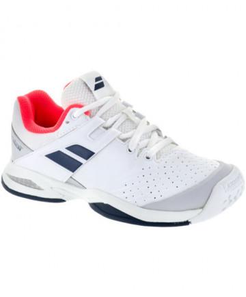 Babolat Junior Propulse All Court Shoes White/Blue 33S17478-153