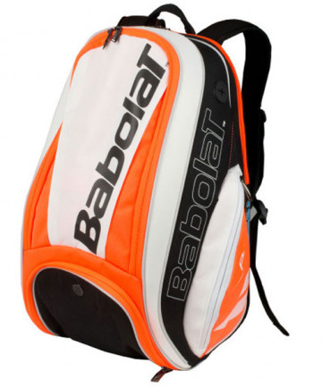 Babolat Pure Strike Backpack Bag White/Red 753071-149