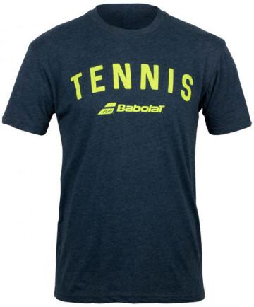 Babolat Men's Tennis Logo Tee Midnight Navy 911066-U04