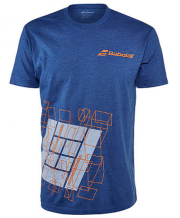 Babolat Men's Court Tee Royal Blue 911071-U10