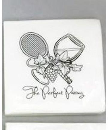 Cute Tennis Napkins - Perfect Pairing NAPKINS-PP