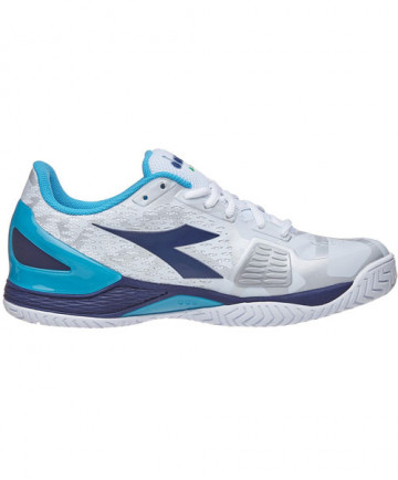 Diadora Men's Speed Blushield 2 AG Shoes White/Blue 172981-C5438