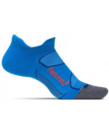 Feetures! Elite Ultra Light Cushion No Show Tab Socks Medium Blue E55085