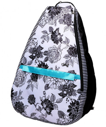 Glove It Black / White Rose Backpack Bag TR246