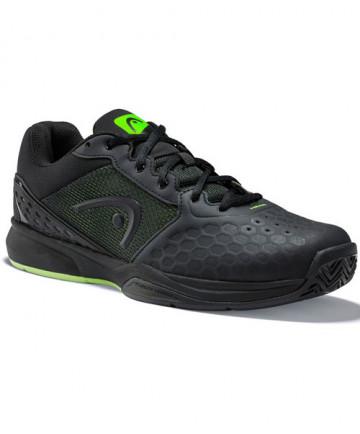 Head Men's Revolt Team 3.0 Shoes Black / Green 273309-100