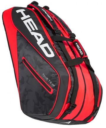 Head Tour Team 12R MonsterCombi 12 Pack Bag 283108-BKRD