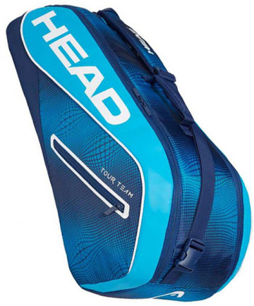 Head Tour Team Combi 6 Racquet Bag Navy/Blue 2019 283129-NVBL