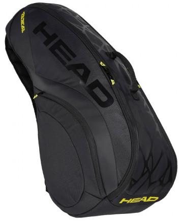 Head Radical Limited 6R Combi Racquet Bag 283958-BKYW