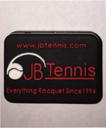 JB's Tennis String Dampener Rectangle Black/Red DAMPREBKRD