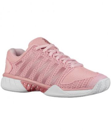 K-Swiss Women's Hypercourt Express Shoes Coral Blush / White 93377-653