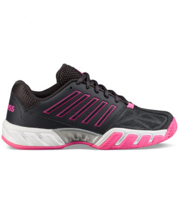 K-Swiss Women's Big Shot Light 3 Shoes Magnet/Pink 95366-038