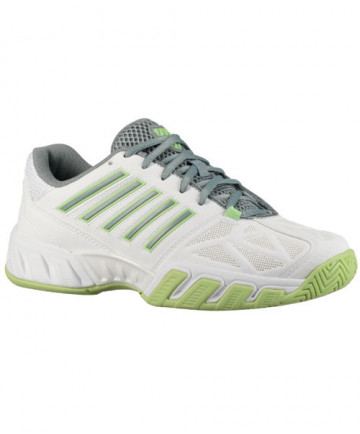 K-Swiss Women's Bigshot Light 3 Shoes White / Paradise Green 95366-171