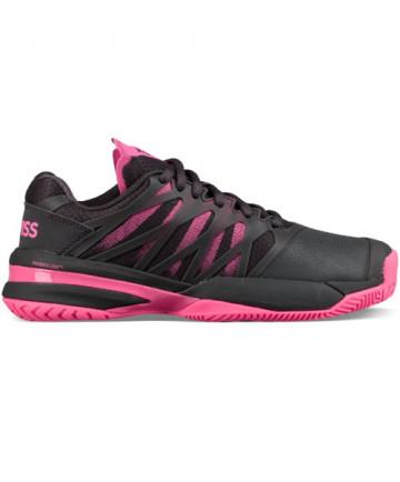 K-Swiss Women's Ultra Shot Shoes Magnet/Neon Pink 95648-037