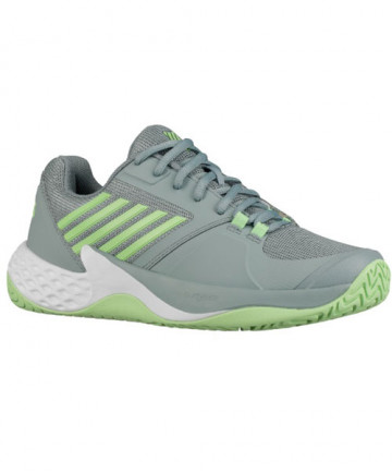 K-Swiss Women's Aero Court Shoes Abyss / Paradise Green 96134-110