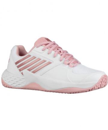 K-Swiss Women's Aero Court Shoes White / Coral Blush 96134-136