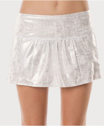 Lucky in Love Las Palmas Glisten Cargo Skirt Aquafrost CB252-420