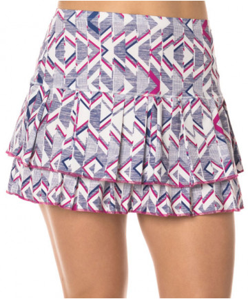 Lucky in Love Shape it Up 14 Inch LONG Skirt Raspberry CB308-669643