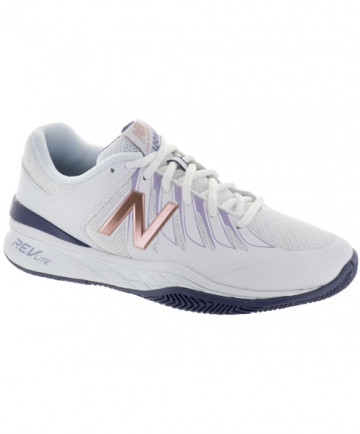 New Balance Women's WC1006B Shoes White/Purple