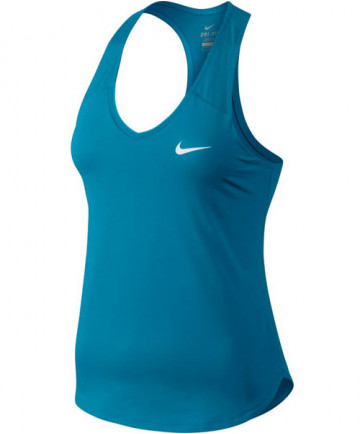 Nike Women's Court Pure Tank Neo Turquoise 728739-430