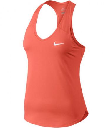 Nike Women's Court Pure Tank Light Wild Mango 728739-680