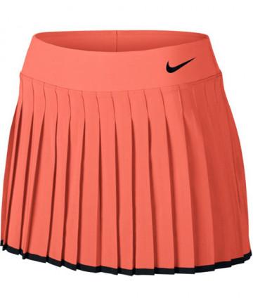 Nike Women's Court Victory Skort Light Wild Mango 728773-680