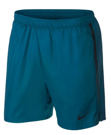 Nike Men's Court Dry 7 Inch Shorts Green Abyss 830817-301