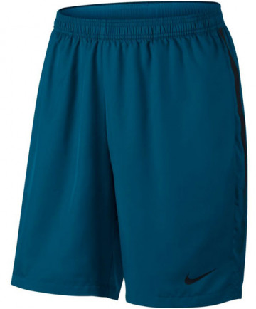 Nike Men's Court Dry 9 Inch Shorts Green Abyss 830821-301