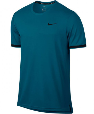Nike Men's Court Dry Team Top Green Abyss 830927-301