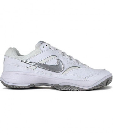 Nike Women's Court Lite Shoes White/Silver 845048-100