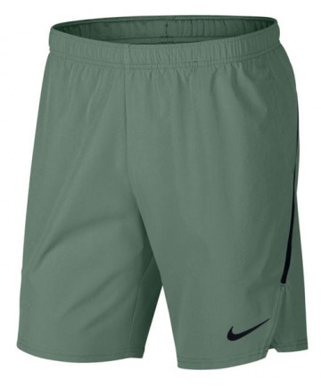Nike Men's 9 Inch Court Flex Ace Shorts Clay Green 887515-365