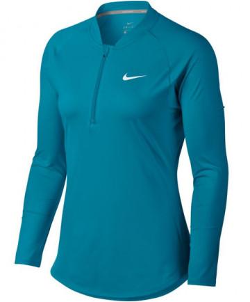 Nike Women's Pure Long Sleeve Half Zip Top Neo Turquoise 888170-430