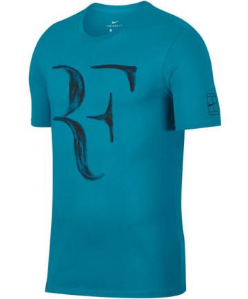 Nike Men's Roger Federer Tee Neo Turquoise 913466-430