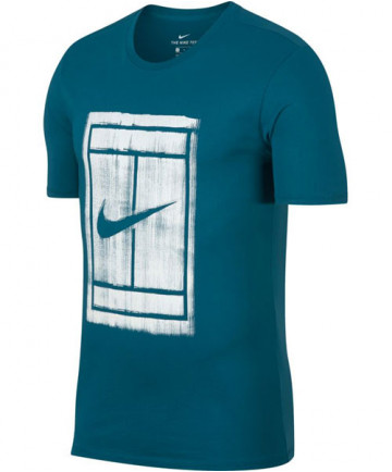 Nike Men's Court Tee Green Abyss 913501-301