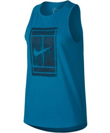 Nike Women's Court Tomboy Tank Neo Turquoise 913535-430