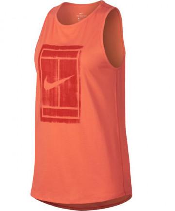 Nike Women's Court Tomboy Tank Light Wild Mango 913535-680