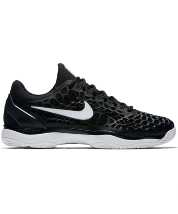 Nike Men's Zoom Cage 3 Shoes Black/White 918193-010